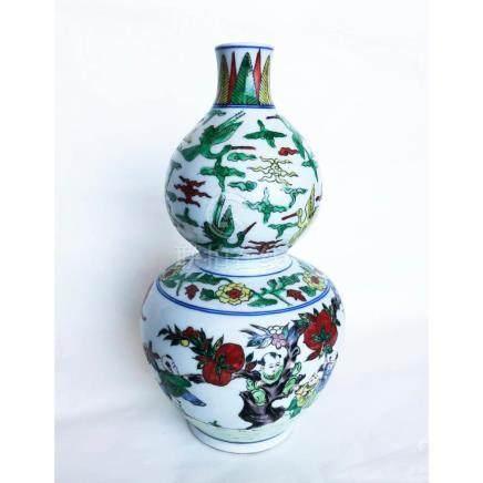 Dou Cai Chinese Ceramic Vase