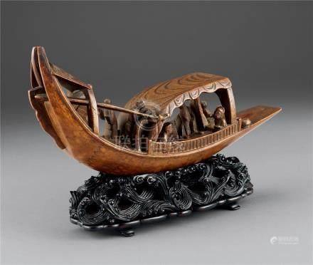 18世纪 竹船