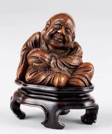 清 竹雕小罗汉像