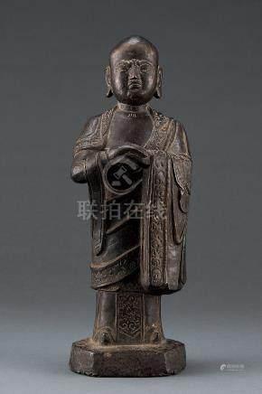 铜制 罗汉像