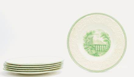 "Set of Wedgewood ""Patrician"" Service Plates,19th C"