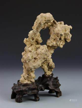 Republic Taihushi natutal Scholar rock stone