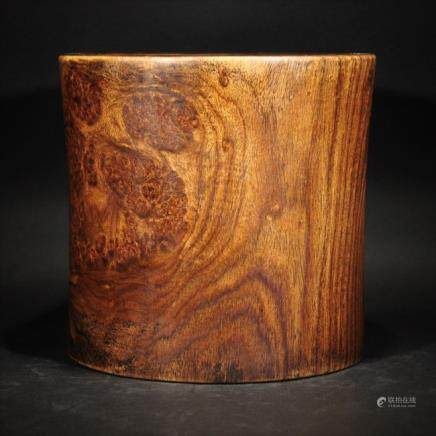 Chinese HUANGHUALI WOOD BRUSHPOT
