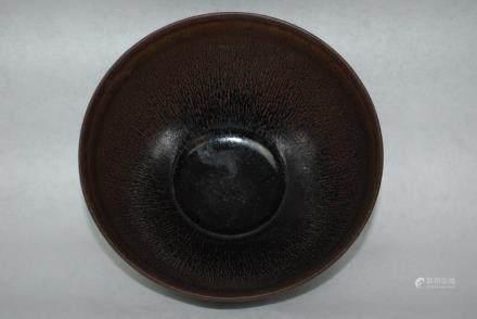 A Black Glazed Tea Pot