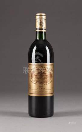 CHÂTEAU BATAILLEY 1985 PAUILLAC  6 Flaschen, 0,75l; 2 Flaschen (in), 3 Flaschen (ts), 1 Flasche (hs), Etiketten min. besch.   Bedeutende rheinische Privatsammlung.