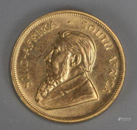 1 oz fine gold South African 1979 Krugerrand coin
