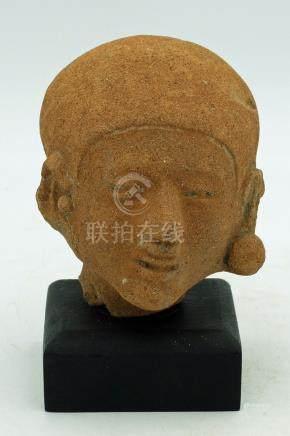 LaTolita Head - Ecuador, ca. 400 BC - 500 AD