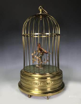 GERMAN SINGING BIRD CAGE