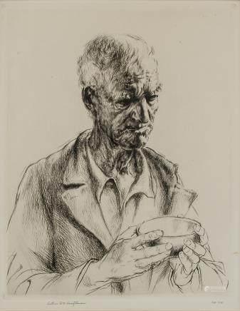 Arthur Heintzelman US 1891-1965 Etching Ed. 110