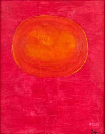 Rupprecht Geiger German Color Field Oil on Canvas