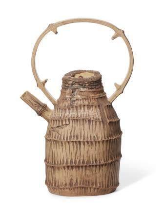 1996年 陆文霞制竹节壶