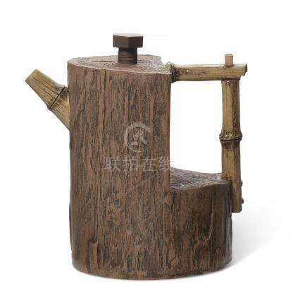 陆文霞制树干壶