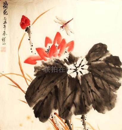 CHINESE PAINTING ATTRIBUTED TO CHENG GONG, TAO DE LIAN