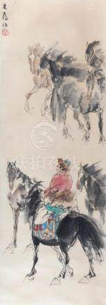 LIU DA WEI CHINESE PAINTING ATTRIBUTED TO
