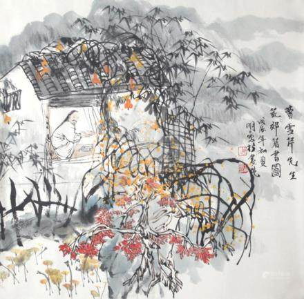 CHINESE PAINTING ATTRIBUTED TO WANG MING MING