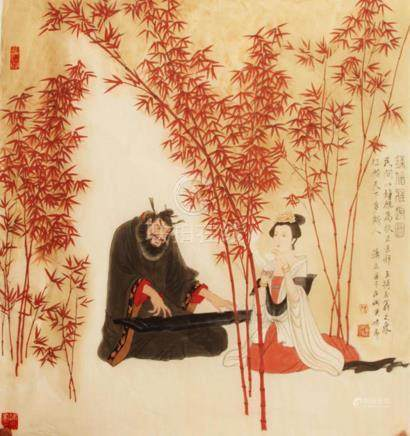XIAO LI, CHINESE PAINTING ATTRIBUTED TO