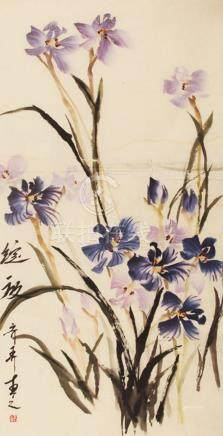 CHINESE PAINTING ATTRIBUTED TO QI NONG, WANG ZHI TAO