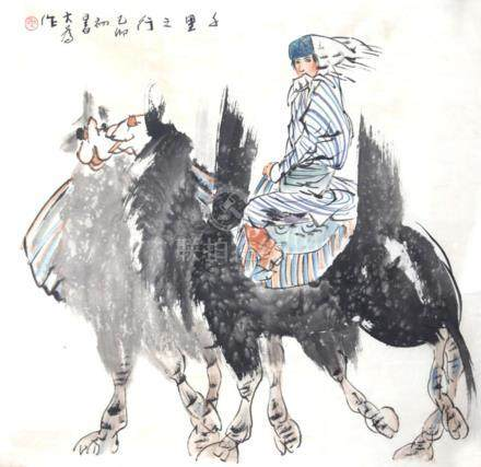 CHINESE PAINTING ATTRIBUTED TO LIU DA WEI