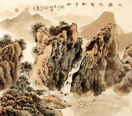 ZI LONG, CHINESE PAINTING ATTRIBUTED TO