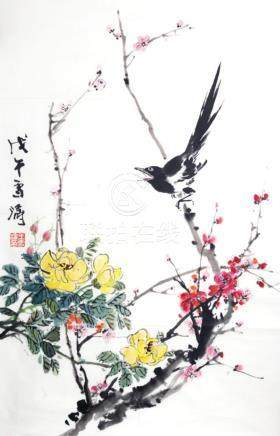 CHINESE PAINTING ATTRIBUTED TO, WANG XUE TAO