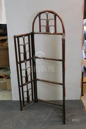 Chinese Bamboo Folding Screen