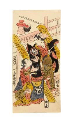 Torii Kiyomasu II (1706-1763) Edo period (1615-1868), 1720s-1730s