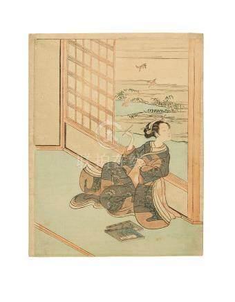 Suzuki Harunobu (1725-1770) Edo period (1615-1868), circa 1765