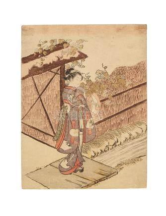Suzuki Harunobu (1725-1770) Edo period (1615-1868), circa 1766