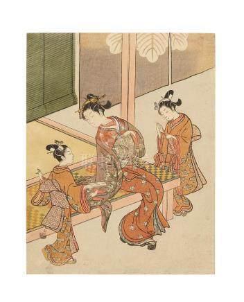 Suzuki Harunobu (1725-1770)  Edo period (1615-1868), circa 1766-1767