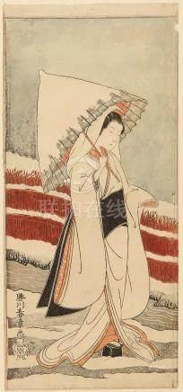 Katsukawa Shunsho (1726-1792) Edo period (1615-1868), circa 1783