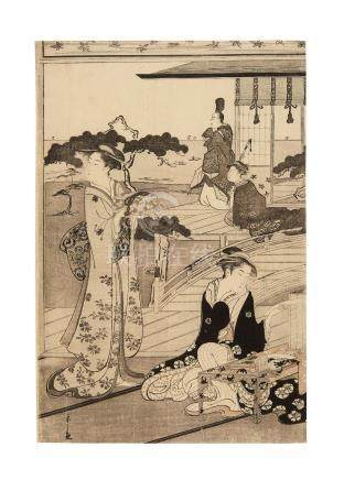 Chobunsai Eishi (1756-1829) Edo period (1615-1868), circa 1789