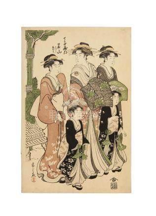 Chobunsai Eishi (1756-1829) Edo period (1615-1868)