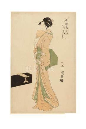 Chobunsai Eishi (1756-1829) and attributed to Chobunsai Eishi (1756-1829) Edo period (1615-1868), 1790-1804