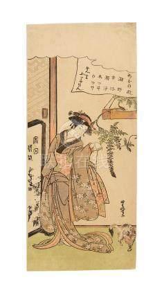 Kitao Masayoshi (Kuwagata Keisai) (1764-1824) Edo period (1615-1868)
