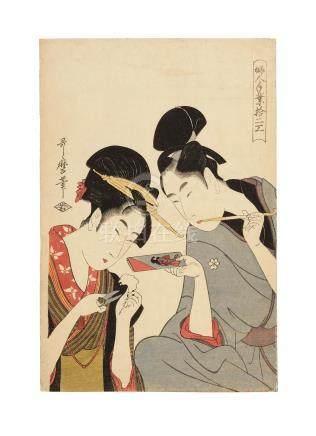 Kitagawa Utamaro I (1750s-1806) Edo period (1615-1868), circa 1798-1799