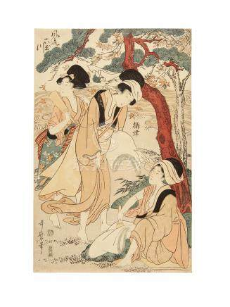 Kitagawa Utamaro I (1750s-1806) Edo period (1615-1868), circa 1804