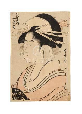 Kitagawa Utamaro I (1750s-1806) Edo period (1615-1868)