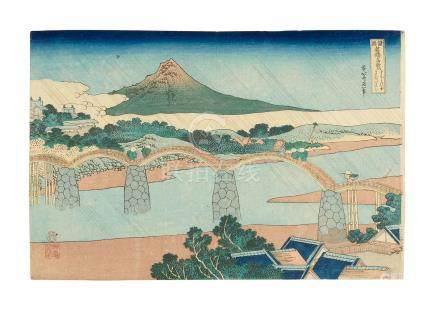 Katsushika Hokusai  (1760-1849)  Edo period (1615-1868), circa 1834)