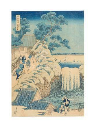 Katsushika Hokusai (1760-1849) Edo period (1615-1868), circa 1832