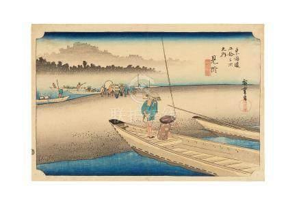 Utagawa Hiroshige I (1797-1858)  Edo period (1615-1868), 1833-1834
