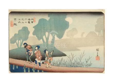 Utagawa Hiroshige I (1797-1858)  Edo period (1615-1868), circa 1835-1838