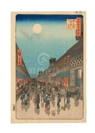 Utagawa Hiroshige I (1797-1858) Edo period (1615-1868), 1856