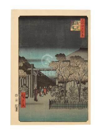 Utagawa Hiroshige I (1797-1858) Edo period (1615-1868), 1857