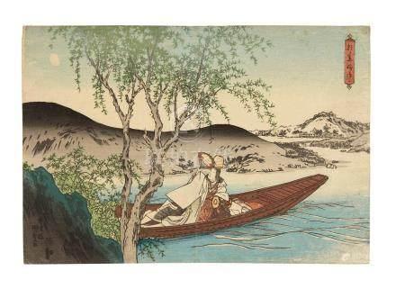 Utagawa Kunisada I (Toyokuni III, 1786-1864) Edo period (1615-1868), circa 1832