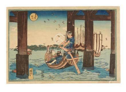 Utagawa Kuniyoshi (1797-1861)  Edo period (1615-1868), circa 1830-1835