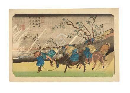 Keisai Eisen (1790-1848)  Edo period (1615-1868), circa 1835-1838