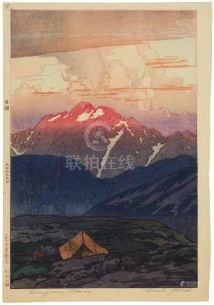 Yoshida Hiroshi (1876-1950) Taisho era (1912-1926), 1926
