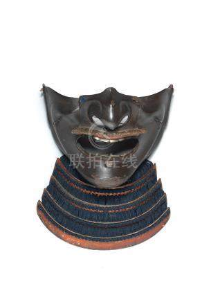 A menpo (half mask) Edo period, 19th century