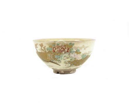 A Satsuma tea bowl Meiji era (1868-1912)