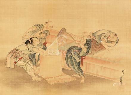 After Katsushika Hokusai (1760-1849) Edo period or Meiji era, mid-late 19th century (3)